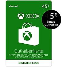Xbox Live - 45 EUR Guthaben + 5 EUR GRATIS [Xbox Live Online Code]