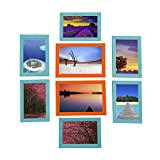 Smera Colored Photo Frames Set