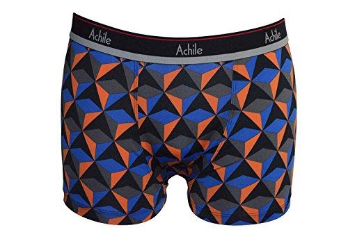 Boxer modello Testine di morte in microfibra-Range Homewear Bleu Triangle