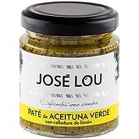 Paté de Aceituna Verde con Limon (220 g) - José Lou