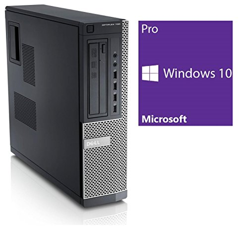 Dell Optiplex 790 DT | Office PC / Multimedia Computer | Intel Core i3-2120 @ 3,3 GHz | 4GB DDR3 RAM | 500GB HDD | DVD-Brenner | Windows 10 Pro (Generalüberholt)