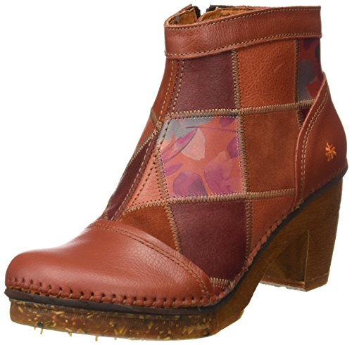 Art Damen Amsterdam Kurzschaft Stiefel Orange (Memphis Petalo 1054)