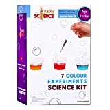 #8: Yucky Science 7 Colour Experiments Science Kit. Awesome Starter Kit for Boys and Girls 6 Years and Above. Multicolor