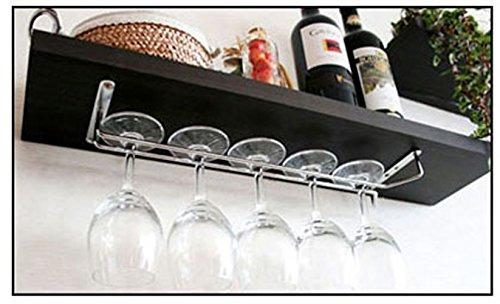 Vetro porta vetro Hanger, Vetro Cromato, bicchieri porta-porta calici da