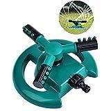 Mamum Garten lemniscus Rotary Sprinkler, Rasensprenger Garten Sprinkler Head Automatik Wasser stylischer 360° Rotatio