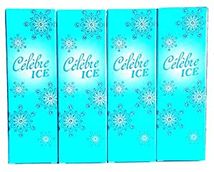 4 x Avon Celebre Ice Eau de Toilette Pour Femme 50ml (Lot de 4 pièces)