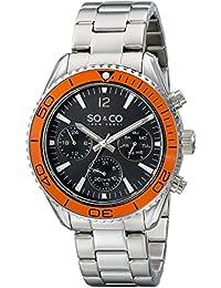 SO&CO Reloj 5026.3 Plateado