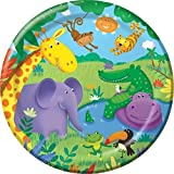 Planet Jashn Jungle Plates, Multi Color ...