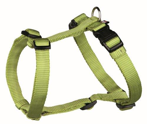 Premium H-Geschirr (S-M),40-65 cm/15 mm, grün