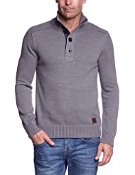 s.Oliver Pull-over Col mao Manches longues Homme