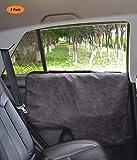 Pettom Protecteur imperméable pour Porte de Voiture de Chien Garde Couverture de Pet de Tous les Véhicules ensemble - Noir...
