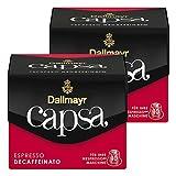 Dallmayr Capsa Espresso Decaffeinato, Nespresso Kapsel, Kaffeekapsel, Espressokapsel, Röstkaffe, 20 Kapseln