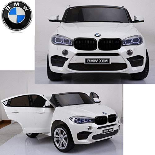 MINICARS Elektroauto Kind BMW X6 2-Sitzer 145 cm 2x120W Weiß