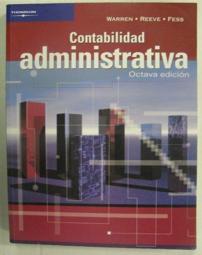 Descargar Libro Contabilidad Administrativa de Carl Warren