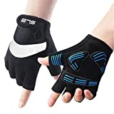 Cycling Gloves, Shock Absorbing Non-slip Bike Fingerless Gloves Suitable for Cycling, Boxing, Mountaineering and Climbing - SLB - amazon.co.uk