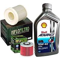 Kit Tagliando Shell ultra 10W40Filtro Aceite Aire Yamaha XV 535Virago/S