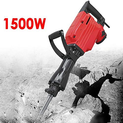 1.5KW Bohrhammer Schlaghammer, Jack Hammer Abbruchhammer Motor, Elektrische Zerkleinern Beton Meißelhammer Meisselhammer (Jack Motor)