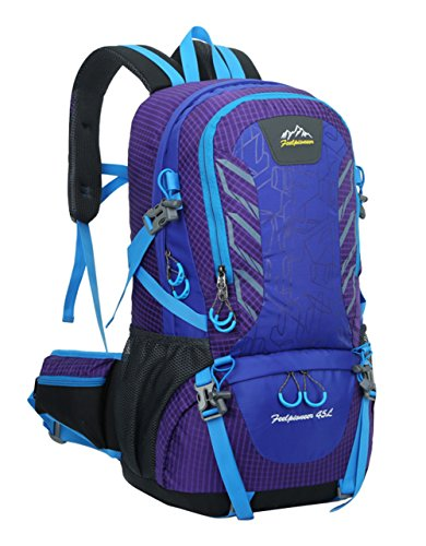 Peiji Damen Trekkingrucksack, violett violett