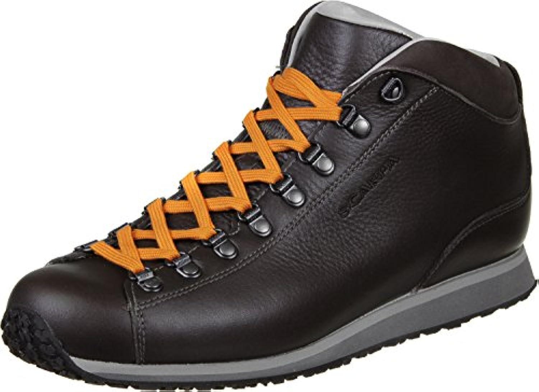 Scarpa Primitive Lite Zapatillas 44,0 dark brown/orange -
