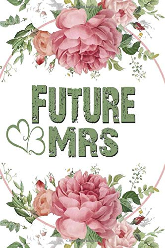 Future Mrs: wedding planner, Gift for Bride to Be, wedding planners and organizers, Bride Journal for Notes
