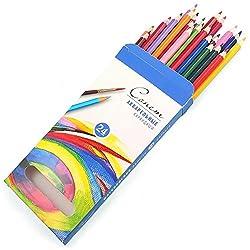 Nevskaya Palitra Aquarell Buntstifte 24 Set | Hochwertiges Buntstift + Aquarellstifte für Zeichnung | Qualität von Sonnet