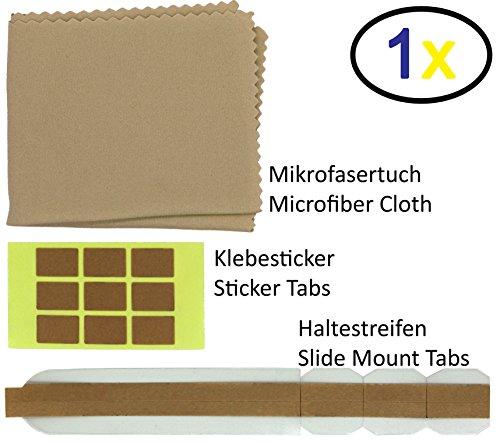 Thorani 1er Set Ersatz-Klebestreifen und doppelseitige Ersatz-Klebesticker für Blickschutzfilter/Sichtschutzfolie für Monitor, Laptop und - Laptop-zubehör Mac