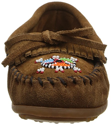 Minnetonka Me To We Maasai Moc Damen Mokassin Braun (Dustybrown)