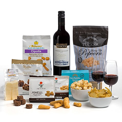Time for Red Wine! Hamper Box- FREE UK Delivery