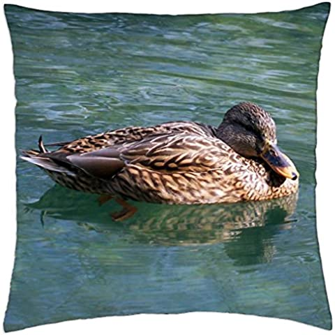 Wild Duck - Throw Pillow Cover Case