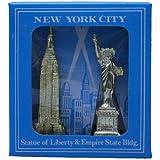 Recuerdo Nueva York - Estatua de la Libertad y Empire State Building.
