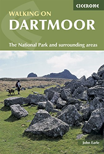 Cicerone guides Walking on Dartmoor: National Park and surrounding areas