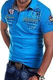 MT Styles Poloshirt CHALLENGE T-Shirt R-2728 [Türkis, XL]