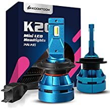 KOOMTOOM H7 Led bombilla de la linterna 5000K, mini bombillas led CREE Led Chip Patrón