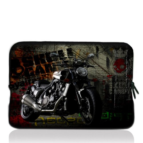 """Price comparison product image ToLuLu® Violent motorcycle 12.5"""" 13"""" 13.3"""" inch Notebook Laptop Case Sleeve Carrying bag for Apple Macbook pro 13 Air 13 / Samsung 900X3 530 535U3 / Dell XPS 13 Vostro 3360 Latitude E6230 / ASUS UX32 UX31 U36 X35 / SONY SD4 13 / ACER 13 / ThinkPad X1 L330 E330"""