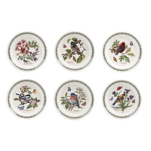 portmeirion-botanic-garden-birds-8-salad-plates-set-of-6-assorted-motifs