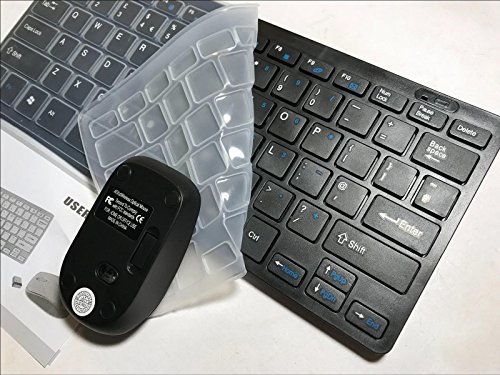 Black Wireless MINI Keyboard   Mouse for 55  55ES6800 Full HD 3D Smart LED TV