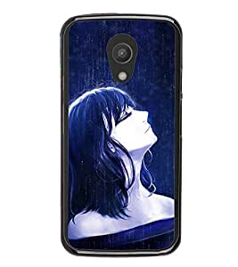 ifasho Designer Phone Back Case Cover Motorola Moto G2 :: Motorola Moto G (2nd Gen) ( Tiger Face Angry Cross )