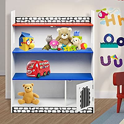 Taylor & Brown Children Kids Book Shelf Bookcase Storage Display Shelving Unit