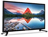 MEDION LIFE P12304 MD 21431 59,9 cm (23,6 Zoll Full HD) Fernseher (LCD-TV mit LED-Backlight, Triple Tuner, DVB-T2 HD, HDMI, CI+, USB, Mediaplayer, integrierter DVD-Player) schwarz