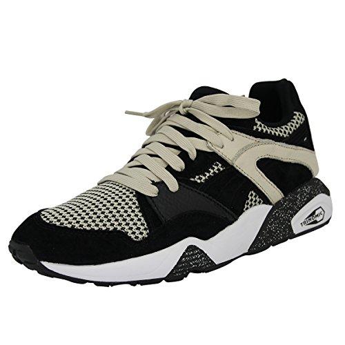 Puma BLAZE TECH Beige Schwarz Wildleder Herren Sneakers Schuhe Trinomic Neu