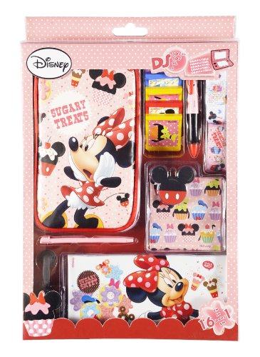 "Zubehör Set 16in1 für Nintendo DS Lite i XL 3DS ""Disney Minnie Mouse Sweeties"""