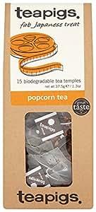 Teapigs Popcorn Tea 37.5 g (Pack of 1, Total 15 Tea Bags)