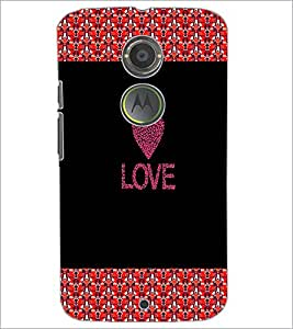 PrintDhaba Quote D-2673 Back Case Cover for MOTOROLA MOTO X2 (Multi-Coloured)