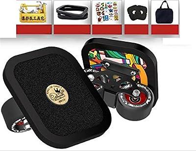 TTYY Freeline Drift Skates PU-Räder 7-stöckige Ahorn-Pedal Anti-Rutsch-Set Brand New