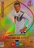 Adrenalyn XL FIFA World Cup 2018 Russia – toni Kroos Premium Gold Limited Edition Trading Card – Germany
