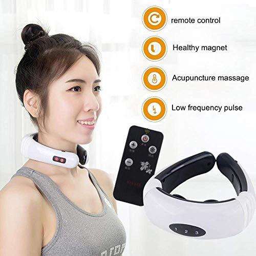 Yzpyd Schnurlose Nackenmassage Mit Wärme, Für Muskeln, Nackenschmerzen, Schulterschmerzen Und Kopfschmerz-Behandlung-Druckpunkt Massage Werkzeug