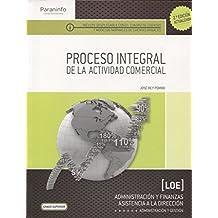 Proceso integral de la actividad comercial (2.ª edición - 2016)