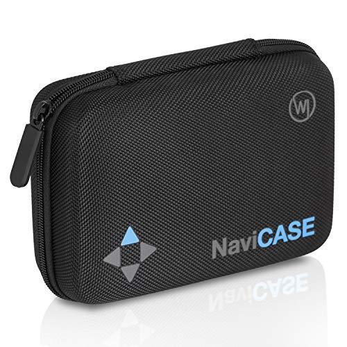 Wicked Chili Navi Case - AntiShock Tasche für TomTom / Garmin / Becker / Falk / Blaufunk / Medion / Navigon Navigationsgeräte 4.3 / 5.0 Zoll (max. Gerätemaße: 15 x 10 x 4.5 cm, Netzfach, Polsterung)