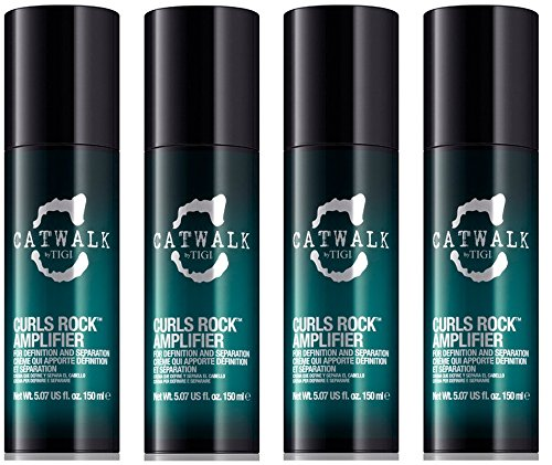 TIGI Kit Curls Rock Amplifier 4 Pezzi x 150ml Catwalk