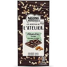 Nestlé Les Recettes de L Atelier - Chocolate negro y Almendras - Tableta de Chocolate